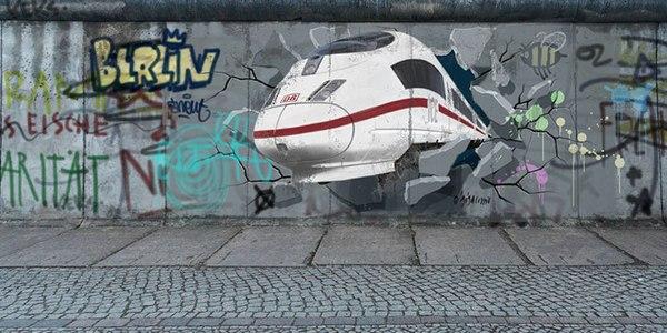 Bahn Mauerfall-Spezial: Zug-Ticket für 25 Euro am 9.11.2014 buchen