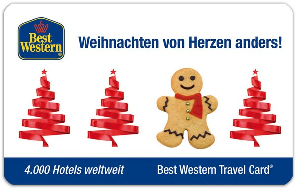 10% Best Western Aktionscode für Travel-Card-Hotelgutscheine bis 24.11.2014