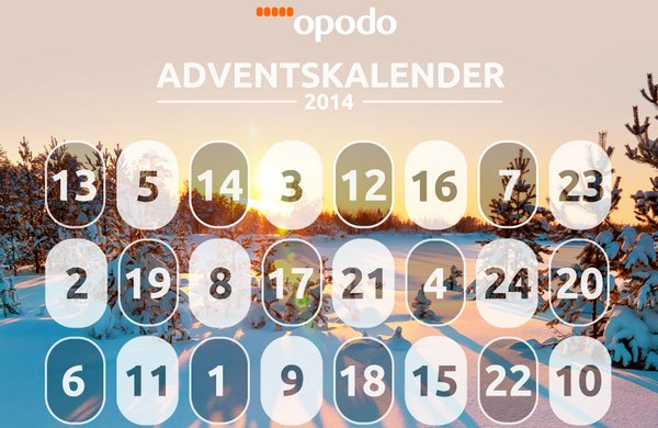 Opodo Adventskalender