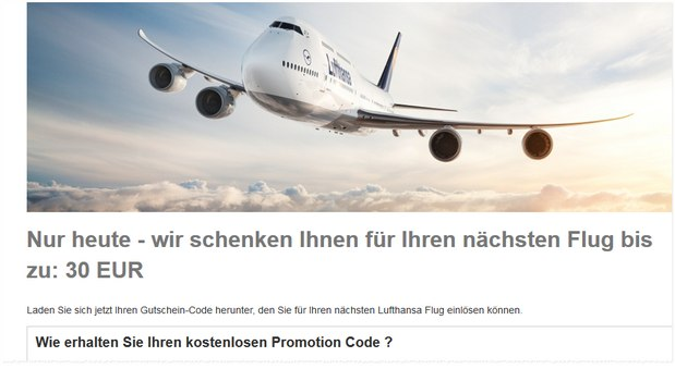 Lufthansa Promotion Code
