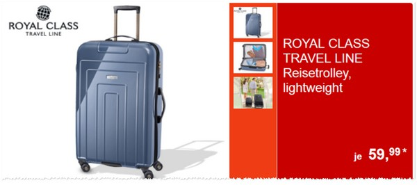ALDI Royal Class Travel Line Reisetrolley