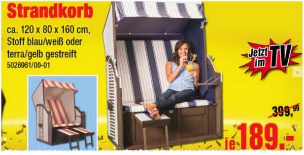 Strandkorb Aus Der Poco TV Werbung