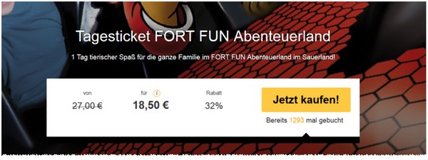 Fort Fun Ticket-Gutschein