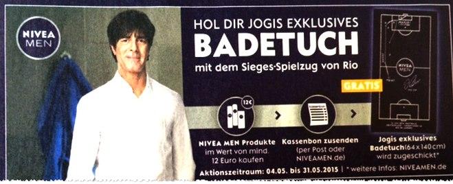 NIVEA Jogis Badetuch