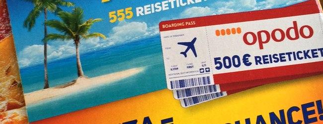 Ofenfrische Gewinnspiel: 500 € Opodo-Reisetickets gewinnen!