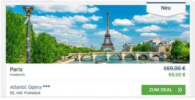 Paris Hotel Atlantic Opera bei den HRS-Deals für 69 €