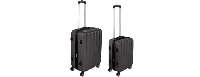 Shaik Trolleys: 4-Rollen-Hartschalen-XXL-Koffer als Schnäppchen für 39,99€