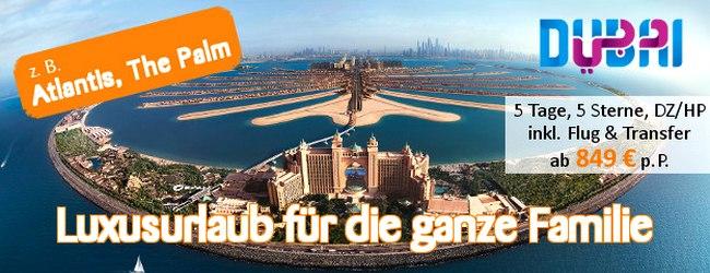 Tropo Dubai-Werbung: 5 Tage 5* The Palm ab 849 € – Wüsten-Luxus-Reisen für den Sommer!