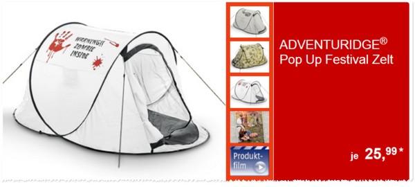 adventuridge pop up zelt aldi s d angebot ab 21. Black Bedroom Furniture Sets. Home Design Ideas
