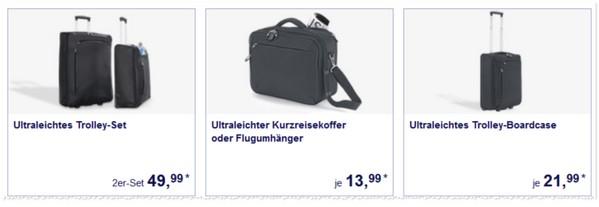ALDI Süd Koffer-Angebote im Mai 2015