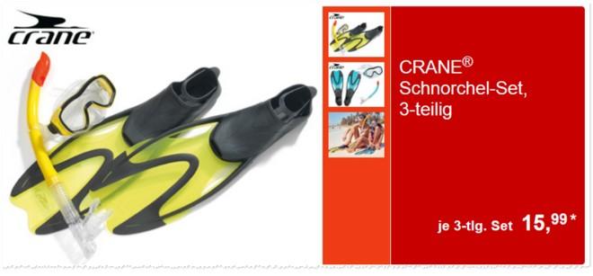Crane Schnorchel-Set