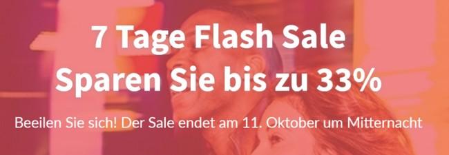 Hilton Flash Sale: Bis zu 33% Rabatt – 7 Tage bis zum 11.10.2015