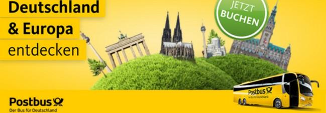 Postbus-Gutschein: Rückfahrt gratis – nur bis zum 16. Juni 2016 buchbar!