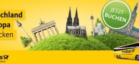 Postbus-Rabatt zum Abschied ab 24.10.2016 – 50% günstiger buchen