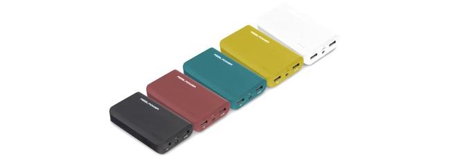 RealPower Powerbank PB6001: Reise-Akku für unterwegs bei Media Markt heute 9 €