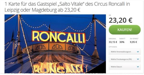 Roncalli Gutschein Köln