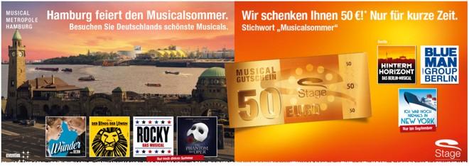 Stage Musicalsommer Gutschein
