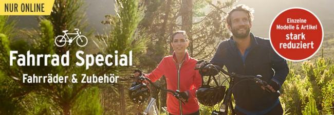 Tchibo Fahrrad-Sale: Special mit reduzierten Preisen, Extra-Rabatt durch Gutschein!
