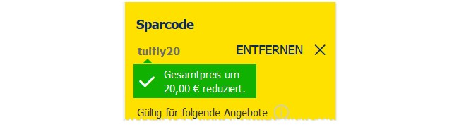 Sparcode Tuifly