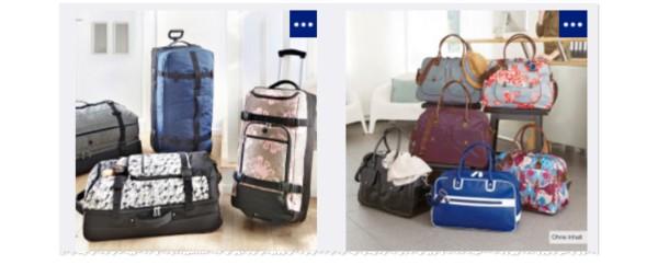 ALDI Trolley-Reisetaschen