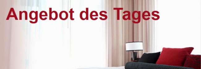 angebot des tages reduzierte hotel preise. Black Bedroom Furniture Sets. Home Design Ideas