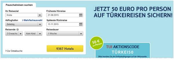 TUI Gustcheincode