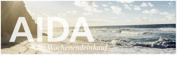 AIDA Wochenendeinkauf-Aktion