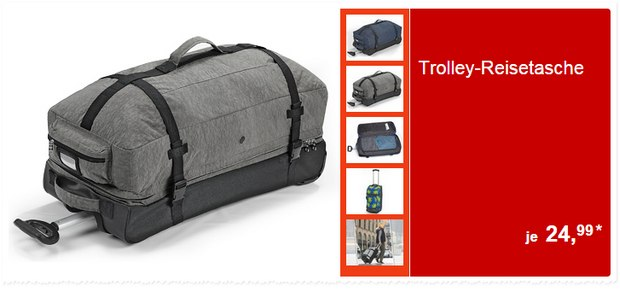 ALDI Trolley-Reisetaschen ab 17.9.2015 für 24,99 €