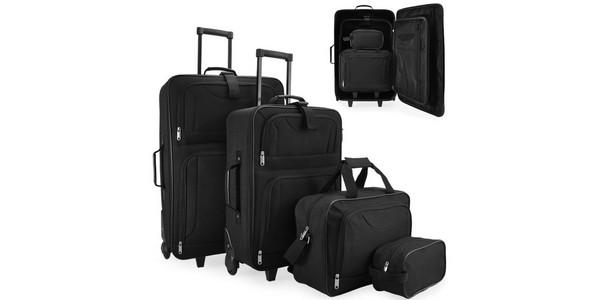 ebay koffer angebot 4 teiliges koffer set nur 42 95. Black Bedroom Furniture Sets. Home Design Ideas