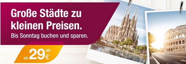 Germanwings City-Tickets