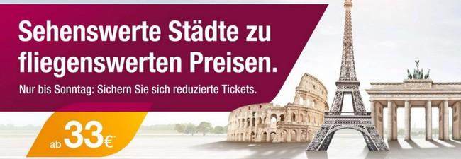 Germanwings Tickets billiger buchen