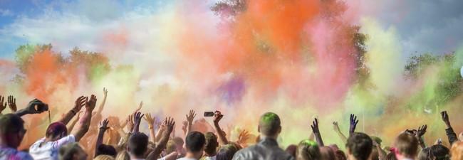 Holi-Festival-Tickets 2017 – 2 Farbgefühle Tickets für Berlin am 12.8.2017 inkl. Schlüsselbänder = 24,98 € über Groupon