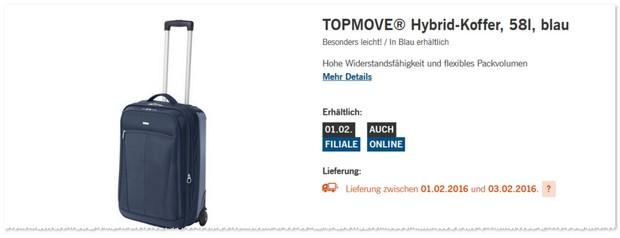 LIDL Topmove Hybrid Koffer
