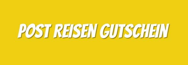Post Reisen Gutschein: 25 € Gutschein ohne MBW bis 17.2.2016