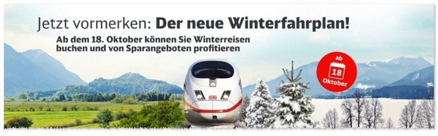 Bahn Winterfahrplan 2016