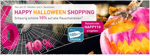 LTUR Happy Halloween Shopping Gutschein