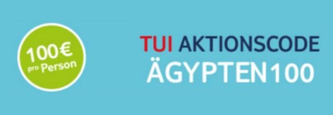 TUI Aktionscode für Ägypten-Reisen