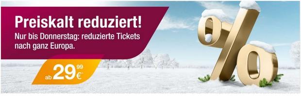 "Germanwings-Tickets ""preiskalt reduziert"""