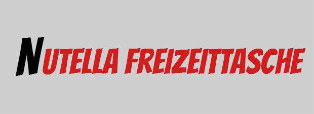 Nutella Freizeittasche als Prämie aus der Lovebrands Sammelaktion zur EM 2016