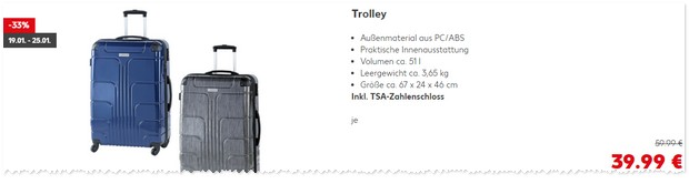 Kaufland Trolleys
